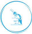 lab microscope vector image