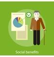 Social Benefits Concept vector image