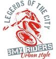 BMX bike - vector image