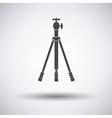 Icon of photo tripod vector image