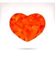 Multicolor srylised heart vector image vector image