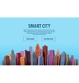 City Construction building banner vector image