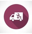 repair car icon vector image