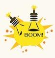 Bulb Bomb vector image vector image