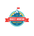 Biggest Mountain - Summer Expedition - logo vector image