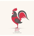 Symbol of 2017 on the Chinese calendar vector image