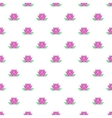 Lotus flower pattern cartoon style vector image