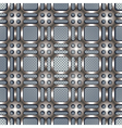 Metal netting seanless pattern vector image