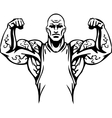Bodybuilding and Powerlifting - vector image vector image