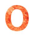 o land letter vector image