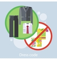Dress Code Concept vector image