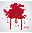 Blood design abstract icon Colorful vector image