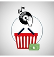 Music design Online icon Isolated vector image