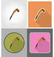 wild west flat icons 03 vector image