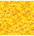 background with yellow triangles vector image vector image