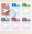Stamp vector image