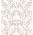 Vintage seamless wallpaper vector image