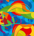 Abstract colorful background Modern design vector image