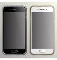 realistic phone mockup vector image