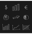 Graphics hand-drawing set vector image vector image