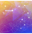 colorful abstract design elements background vector image