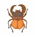 Insect bug icon cartoon style vector image