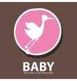 Baby icon design vector image