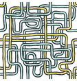 tangled pipes seamless vector image