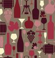 wine seamless vector image