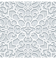 Grey lace vector image