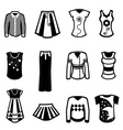 clothes design vector image