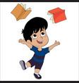 cute kid very funny vector image