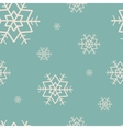 seamless pattern with snowflakes Merry Christmas vector image