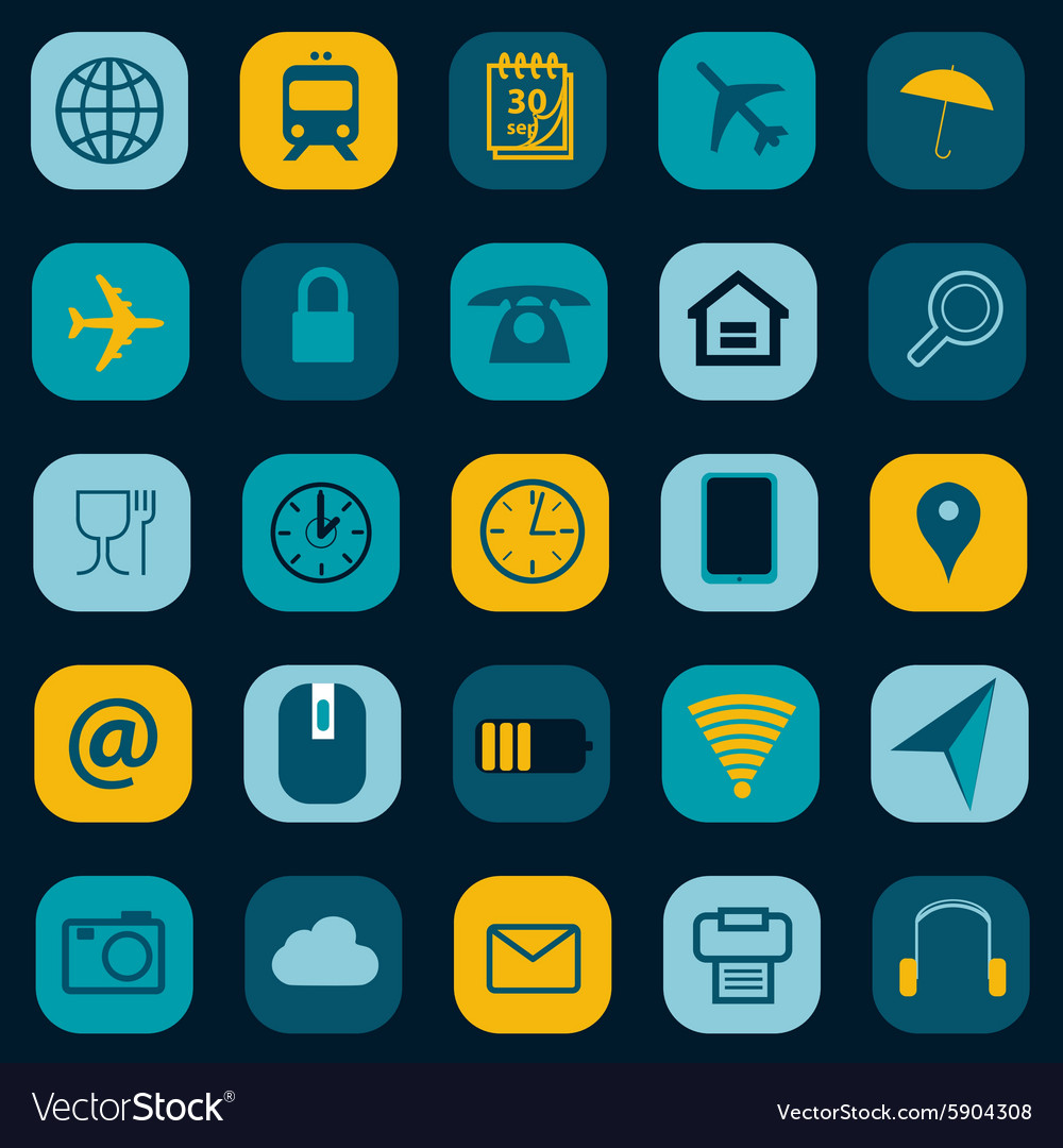 Icons pack vector