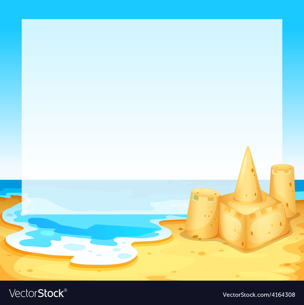View of the beach vector