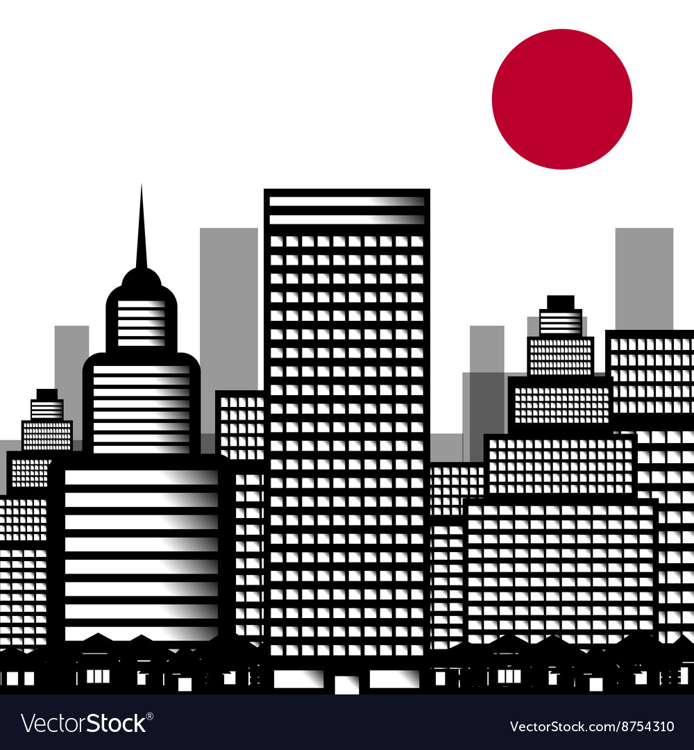 City sushi vector