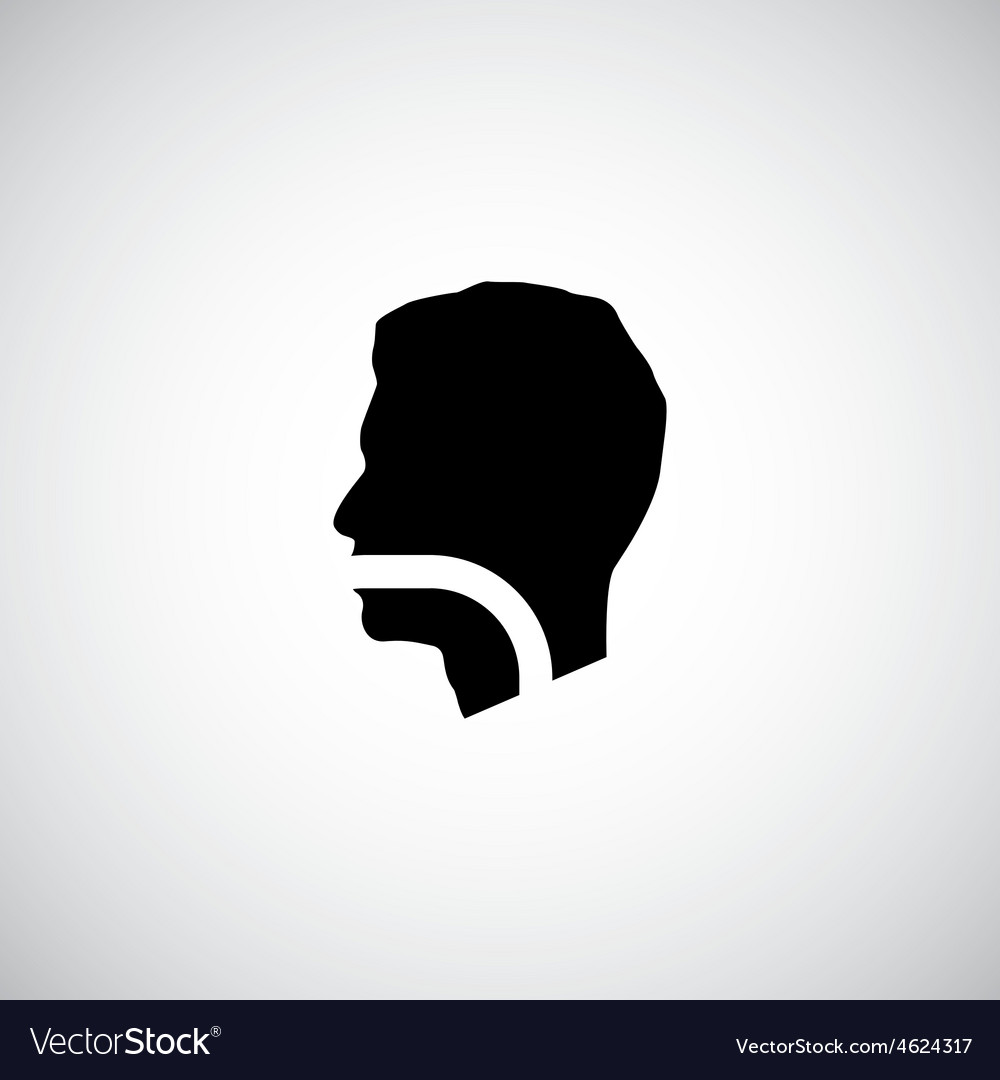 Throat icons vector
