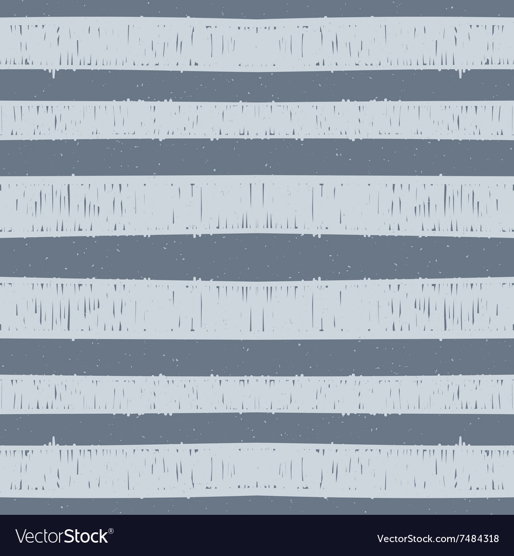 Seamless pattern of hand drawn blue stripes vector