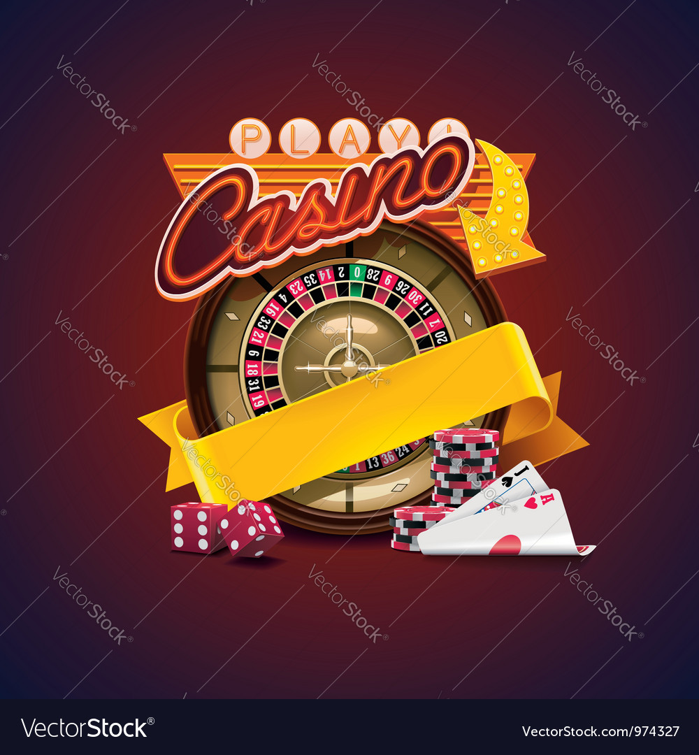 Casino icon vector