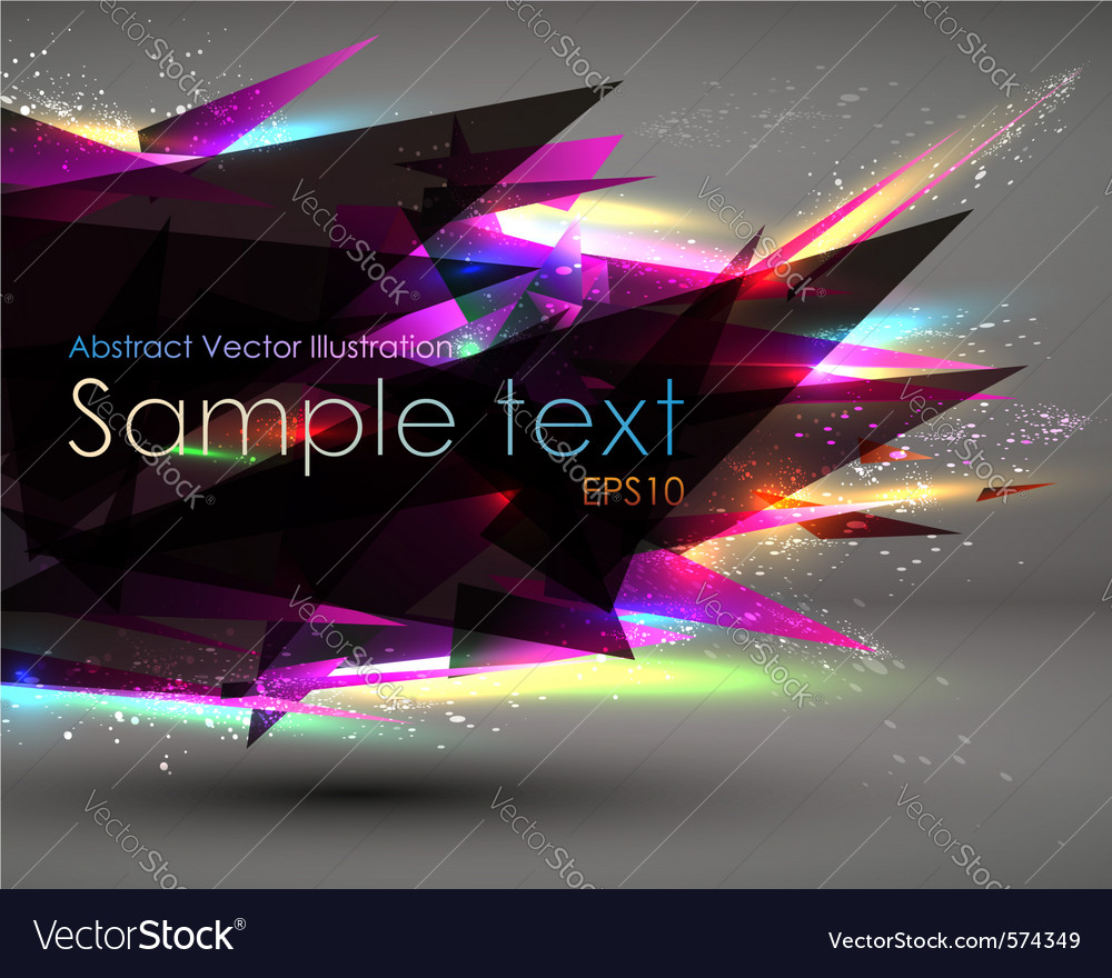 Modern background vector