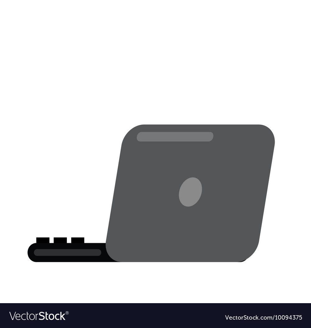 Laptop icon vector