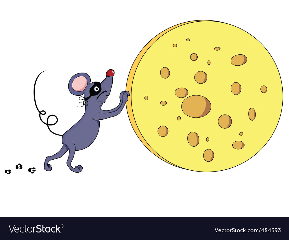Mouse thief vector