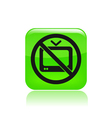 no tv icon vector image