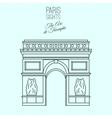 Paris Sights 06 A vector image