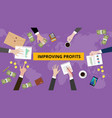 improving profit discussion in a vector image