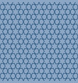 blue geometric pattern with linear elements vector image