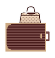 A suitcase vector image vector image