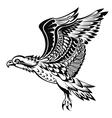 Hand Drawn Eagle vector image vector image