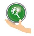Search design vector image
