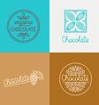 logo design concepts vector image
